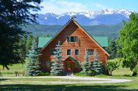 Blockhaus Mit Großem Grundstück Zu Verkaufen Golden Bc Kanada